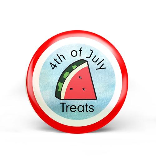 4th of July Treats Badge