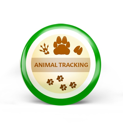 Animal Tracking Badge