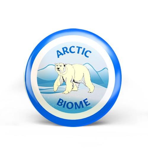Arctic Biome Badge