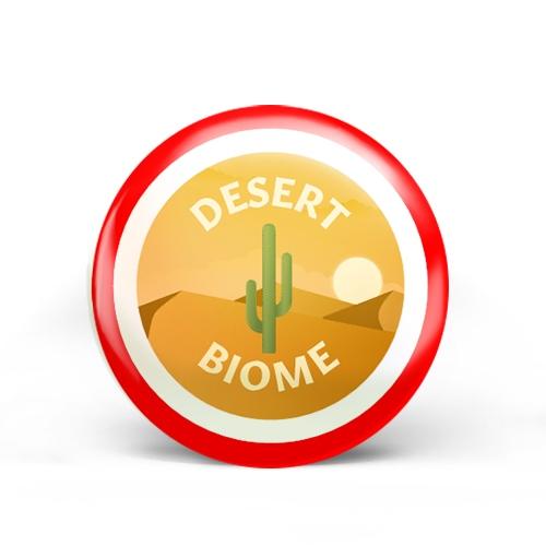 Desert Biome Badge