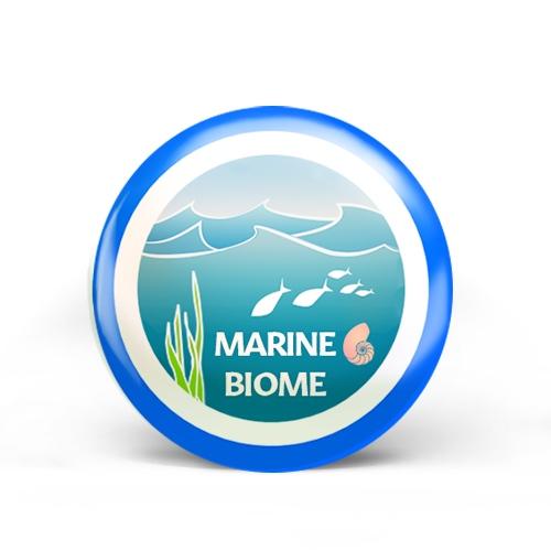 Marine Biome Badge