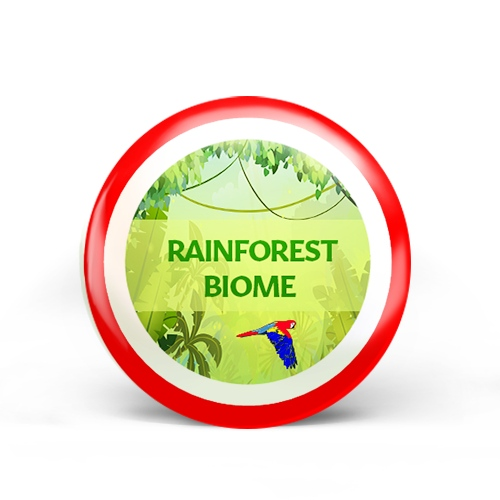 Rainforest Biome Badge