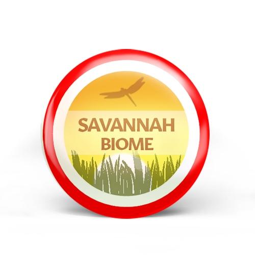 Savannah Biome Badge