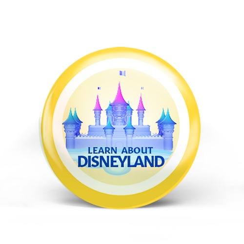 Disneyland Badge