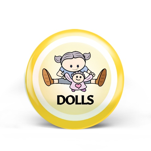 Dolls Badge