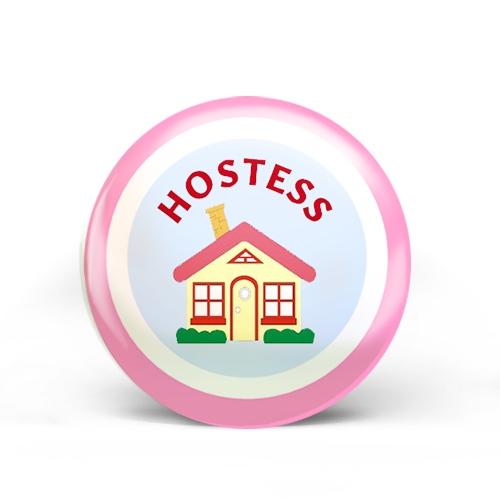 Hostess Badge