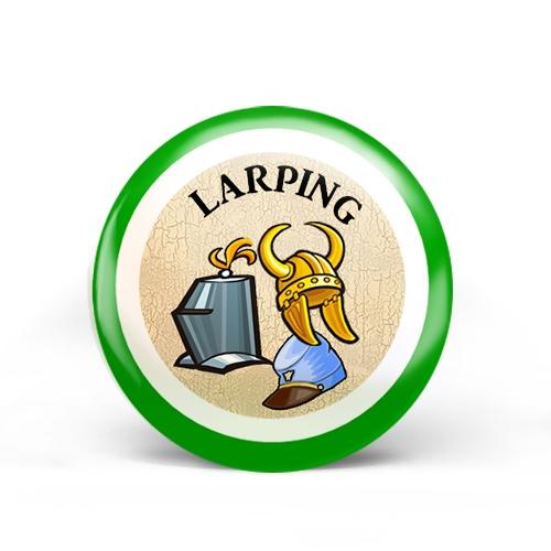 Larping Badge