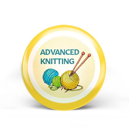 Advanced Knitting Badge