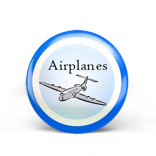 Airplanes Badge