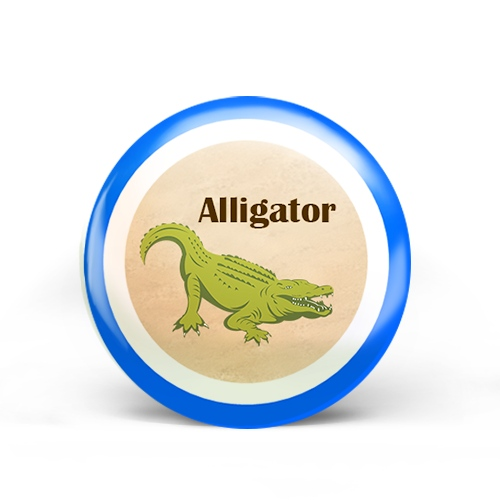 Alligator Badge