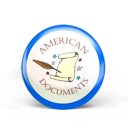 American Documents Badge