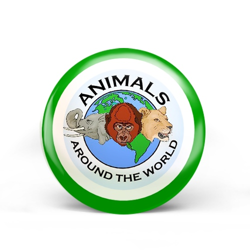 Animals Around The World Badge