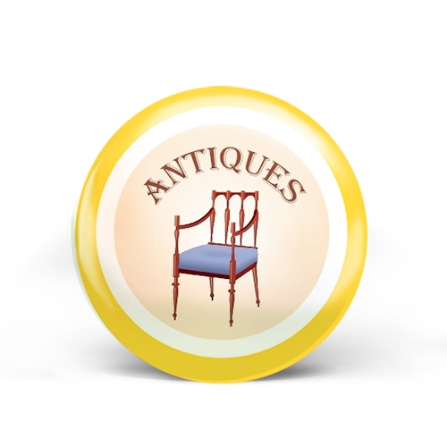 Antiques Badge