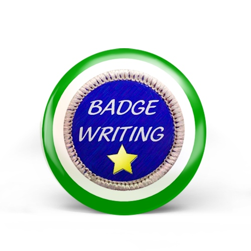 Badge Writing Badge
