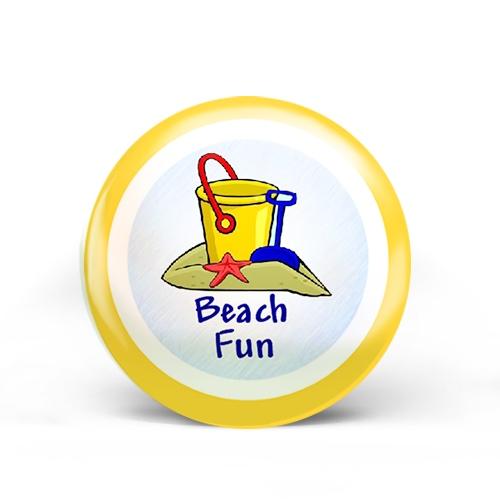Beach Fun Badge