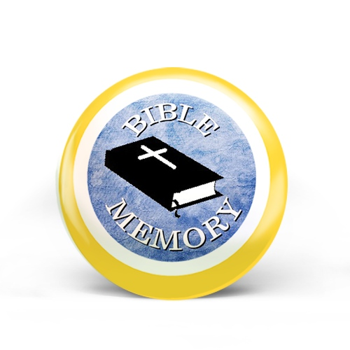 Bible Memory Badge