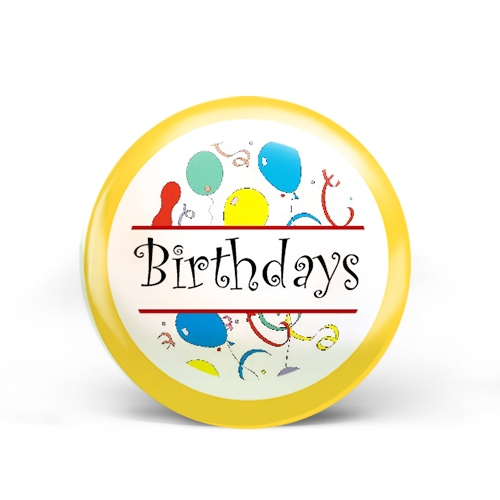 Birthdays Badge