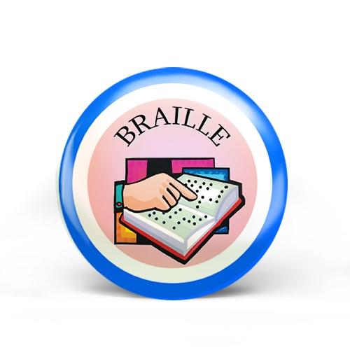 Braille Badge