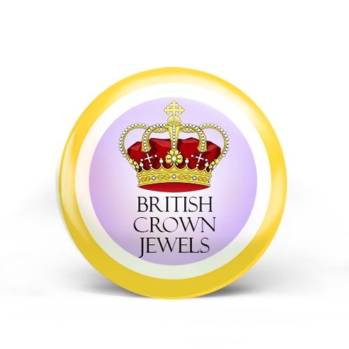 British Crown Jewels Badge