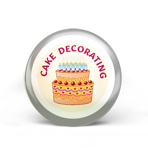 Cake Decorating Badge