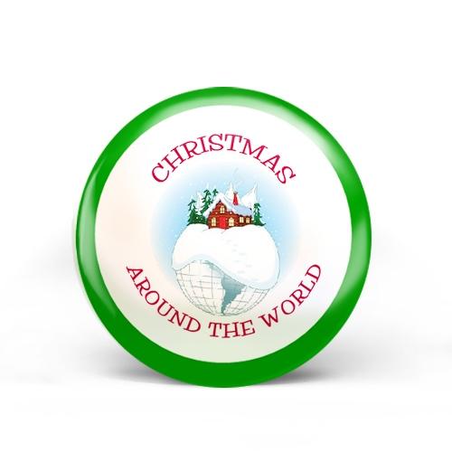 Christmas Around The World Badge