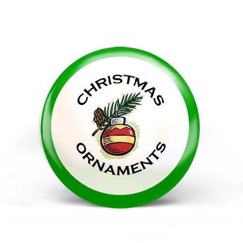 Christmas Ornaments Badge