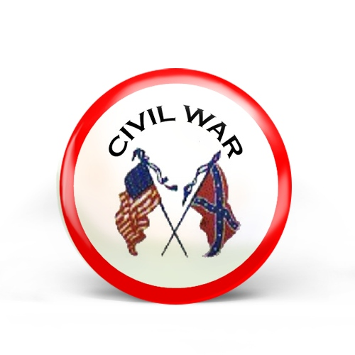 Civil War Badge