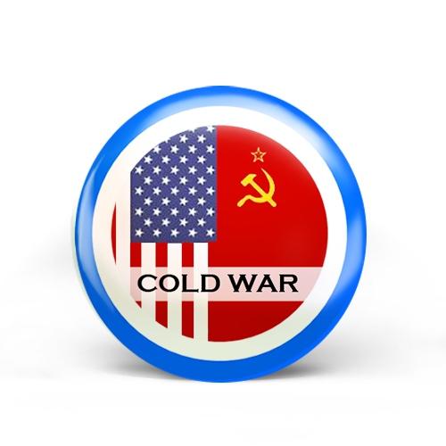 Cold War Badge