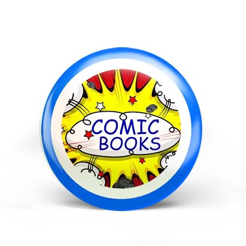 Comic Books Badge