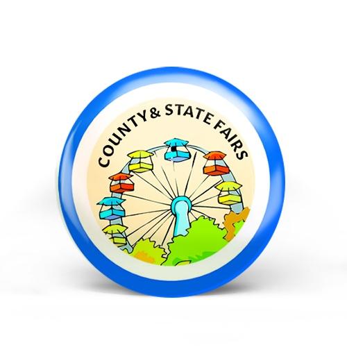 County/State Fair Badge