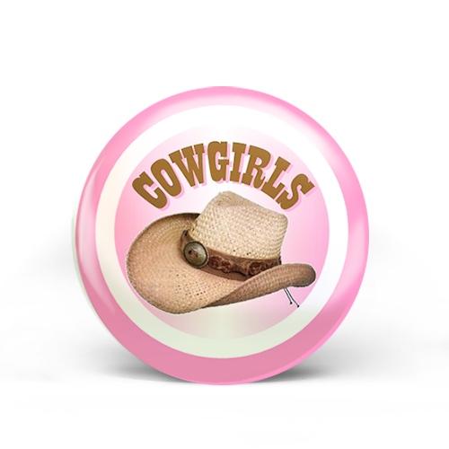 Cowgirl Badge