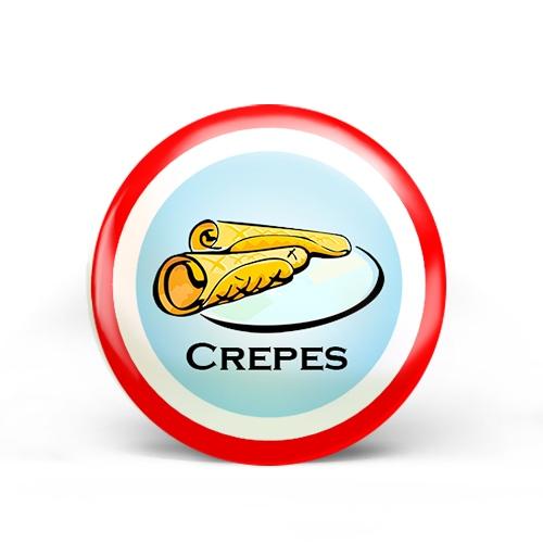 Crepes Badge