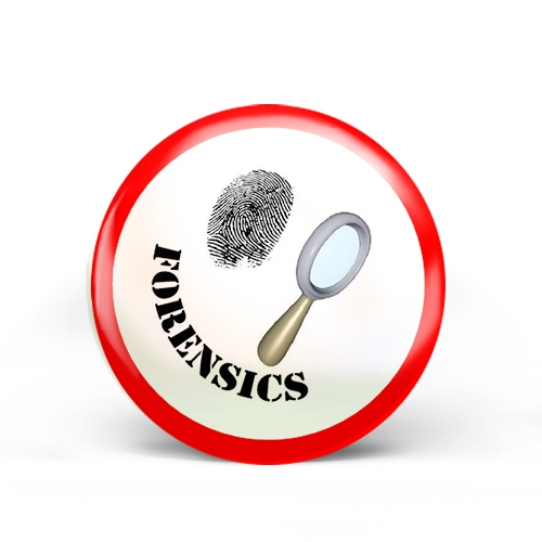 Criminal Forensics Badge