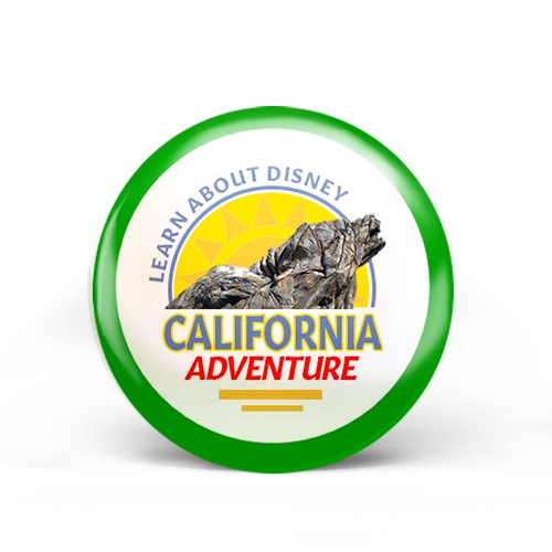 Disney California Adventure Badge