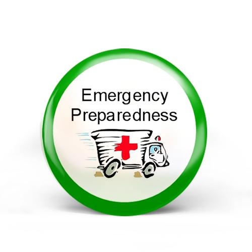 Emergency Preparedness Badge