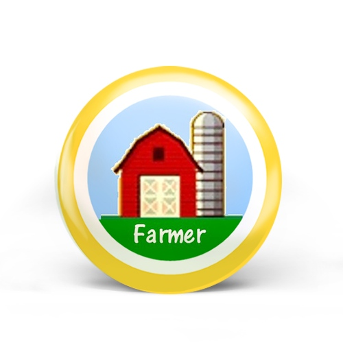 Farmers Badge