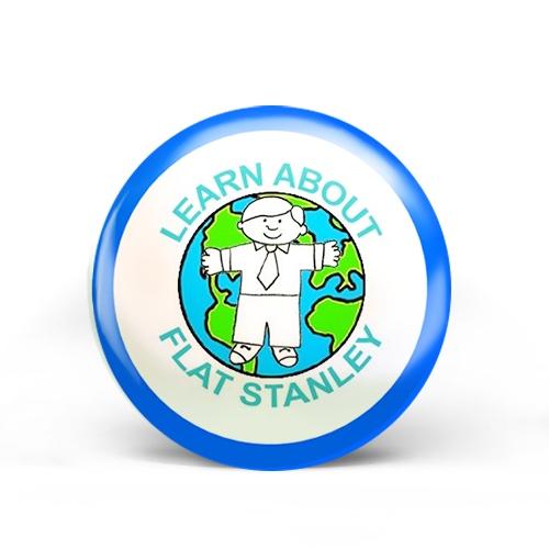 Flat Stanley Badge
