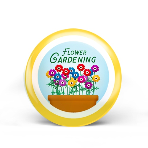 Flower Gardening Badge