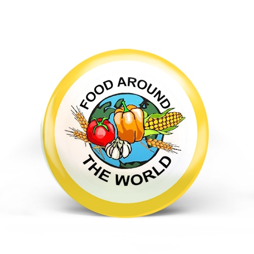 Food Around The World Badge