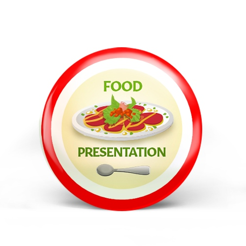 Food Presentation Badge