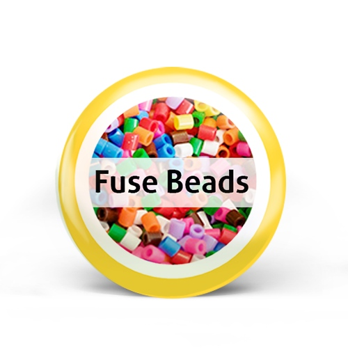 Fuse Beads Badge