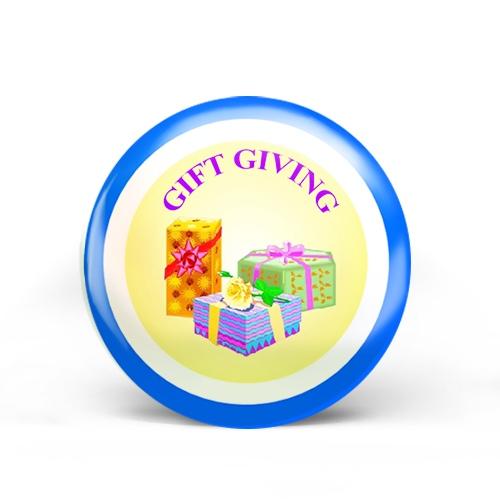 Gift Giving Badge