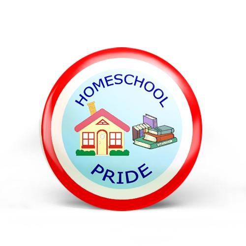 Homeschool Pride Badge