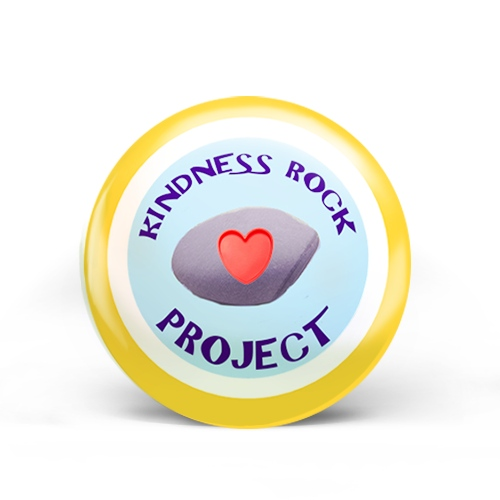 Kindness Rock Badge