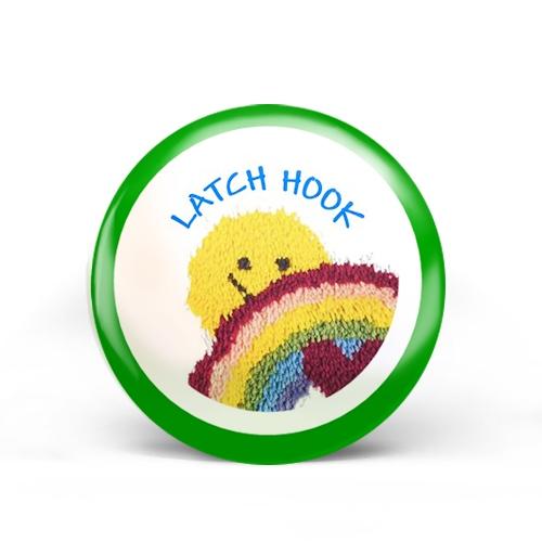 Latch Hook Badge