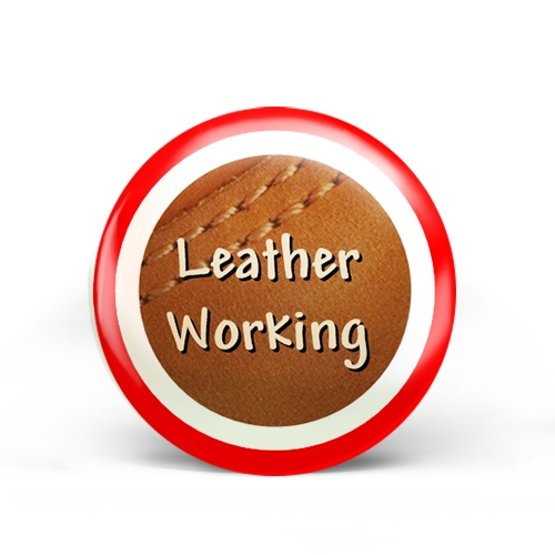 Leather Working Badge