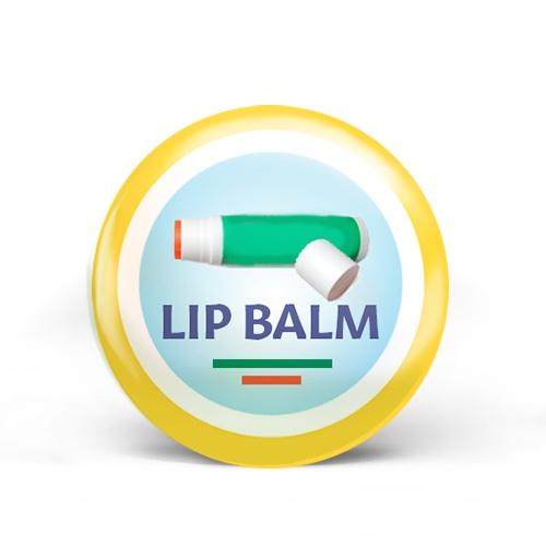 Lip Balm Badge