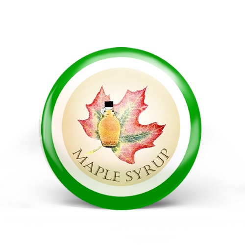 Maple Syrup Badge