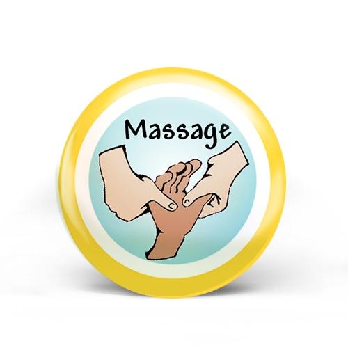 Massage Badge