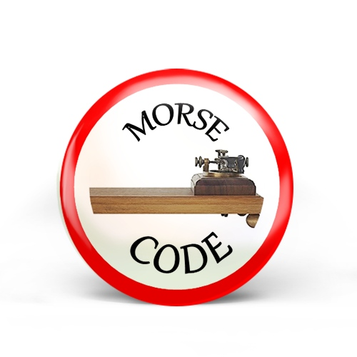 Morse Code Badge